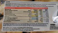 princesse celitiane - Informazioni nutrizionali - en