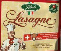 Lasagne frais au boeuf CH - Produit - fr