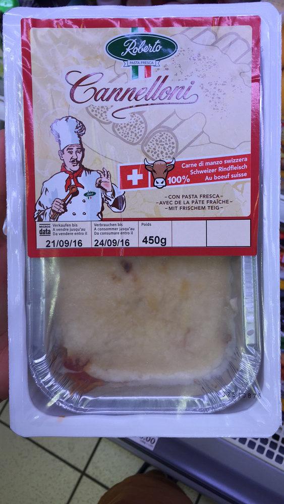 Pasta Fresca - Cannelloni - Produit - fr