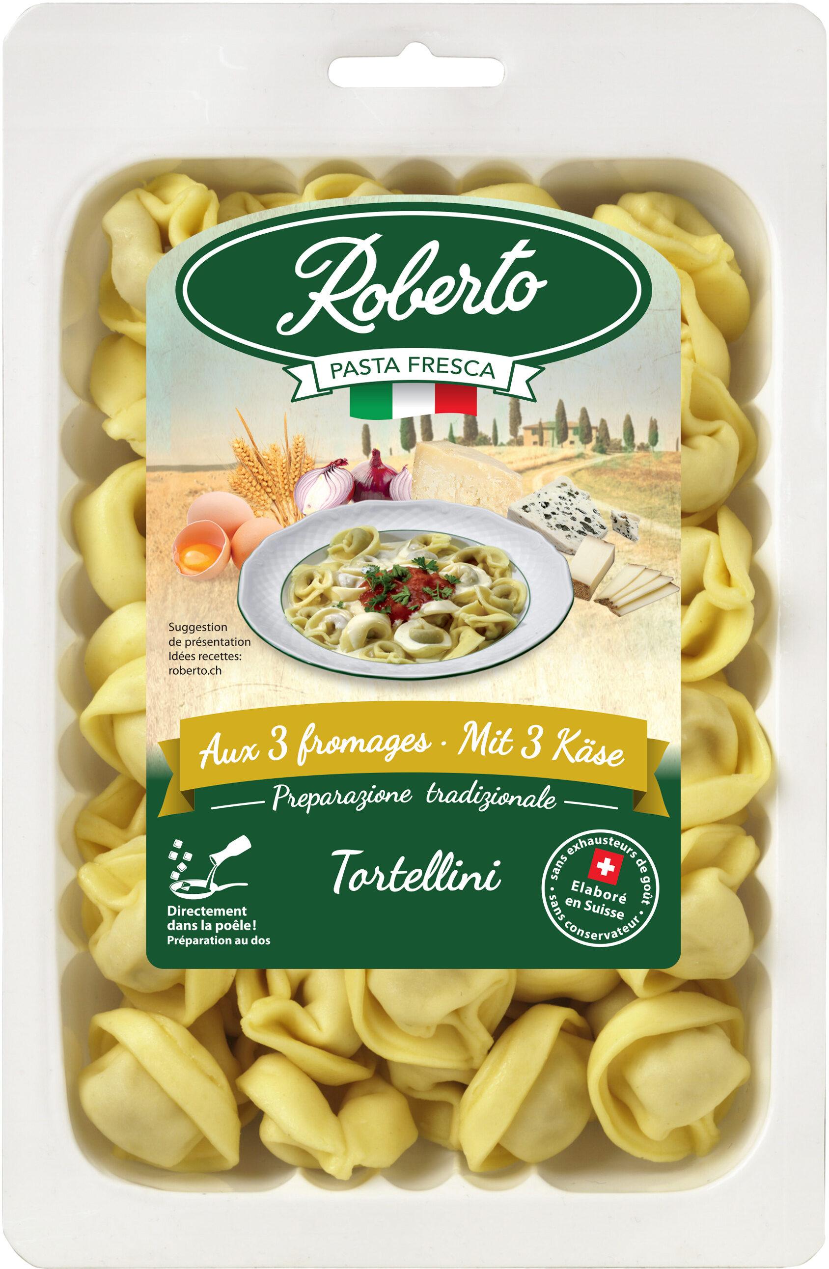 Tortellini frais aux 3 fromages - Produit - fr