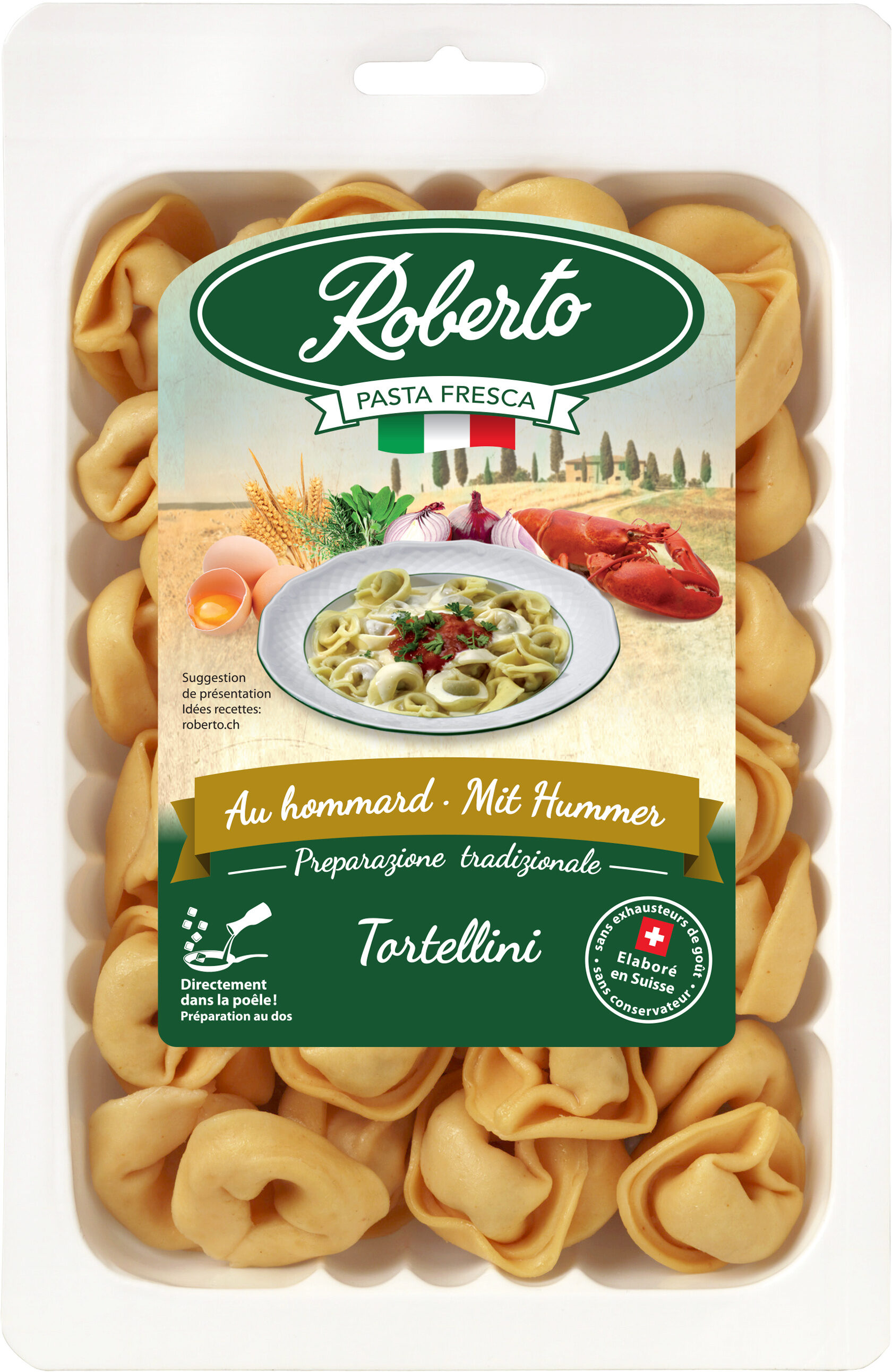 Tortellini frais au Homard - Produit - fr
