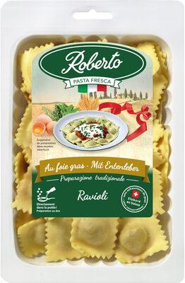 Ravioli frais au foie gras - Produit - fr