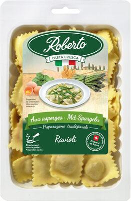 Ravioli frais aux aspèrges - Produit - fr