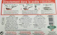 Ravioli frais aux aspèrges - Ingrédients - fr