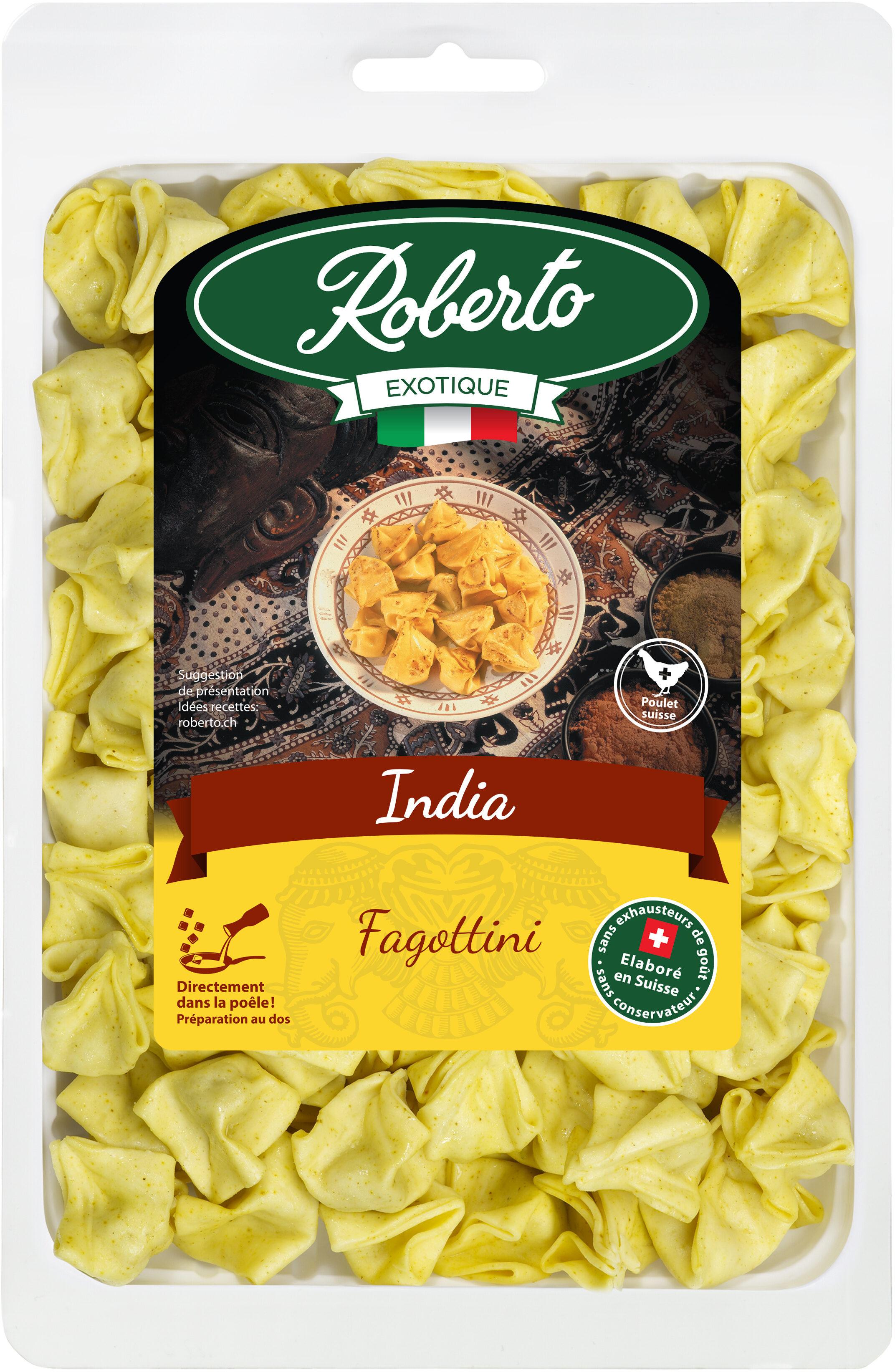 Fagottini India à  la viande de poulet CH - Produit - fr