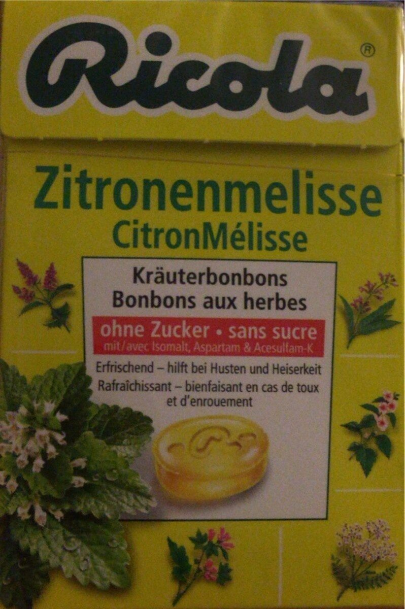 Zitronenmelisse - Prodotto - fr