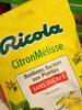 Bonbons suisses aux plantes sans sucre citron melisse - Produit
