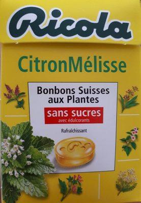Bonbon citron mélisse - Product - fr