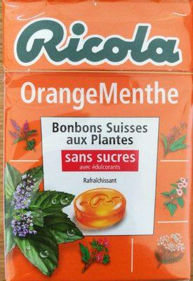 Orange Menthe sans sucres avec édulcorant provenant de la stévia - Product - fr