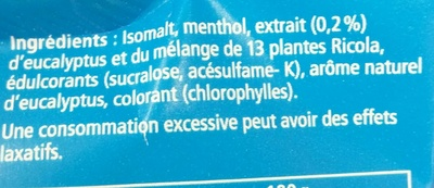 Menthol - Ingredients - fr