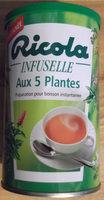 Infuselle aux 5 plantes - Product