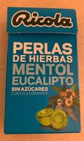 Perlas de hierbas mentol eucalipto - Produit - fr