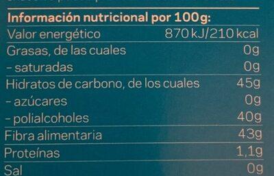Perlas de hierbas mentol eucalipto - Nutrition facts - es