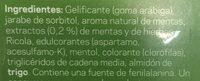 Ricola Perlas De Hierbas Suizas Sabor Menta, 25GRS - Ingrédients - es