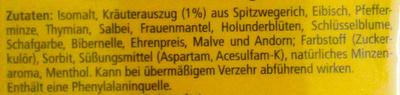 Original Herb - Ingredients - de
