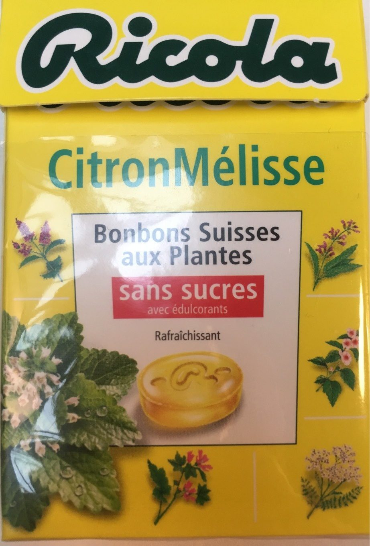 Ricola citron melisse - Product - fr