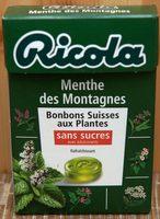 Bonbons Suisses - Menthe des Montagnes - Product - fr