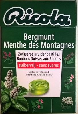 Ricola Menthe des Montagnes - Produit - fr