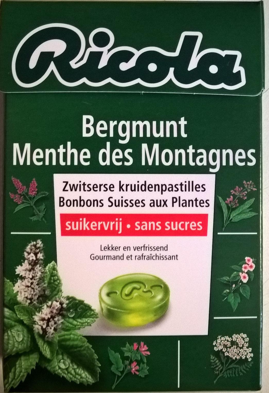 Ricola Menthe des Montagnes - Product - fr