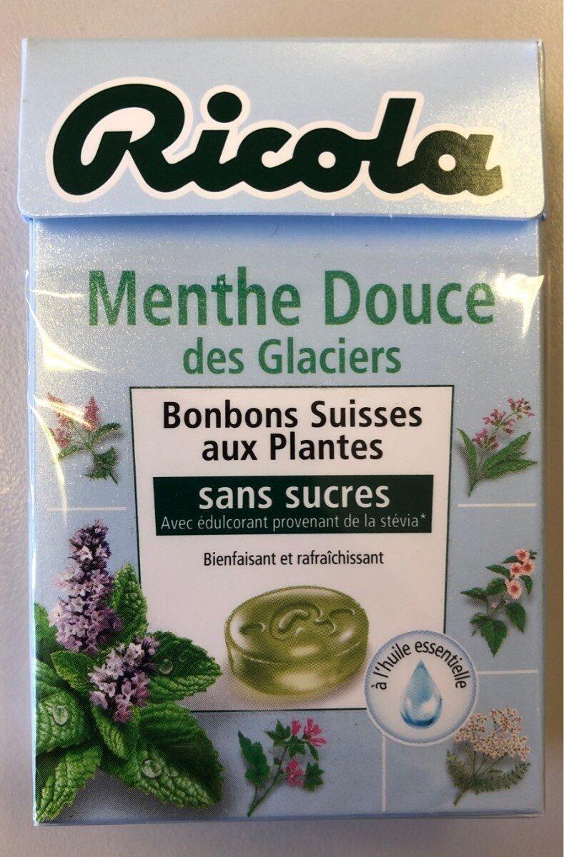 Ricola menthe douce des glaciers - Prodotto - fr