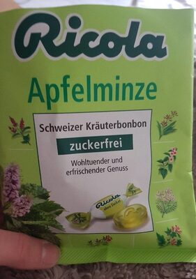 Ricola Apfelminze Kräuterbonbon - Product - de