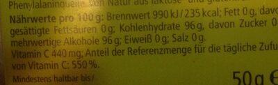Zitronenmelisse - Ingrédients