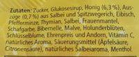 Honig Alpen-salbei - Ingredients - de