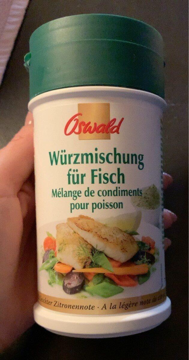 Mélange de condiments pour poisson - Prodotto - fr