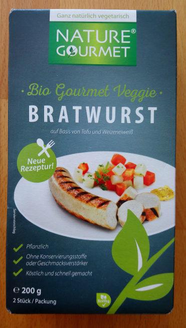 Bio Gourmet Veggie Bratwurst - Produit - de