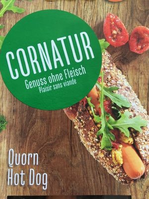Quorn hot dog - Product - fr