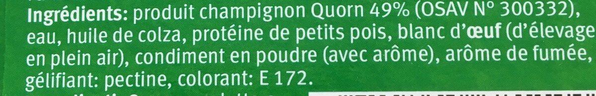 Quorn hot dog - Ingrediënten - fr