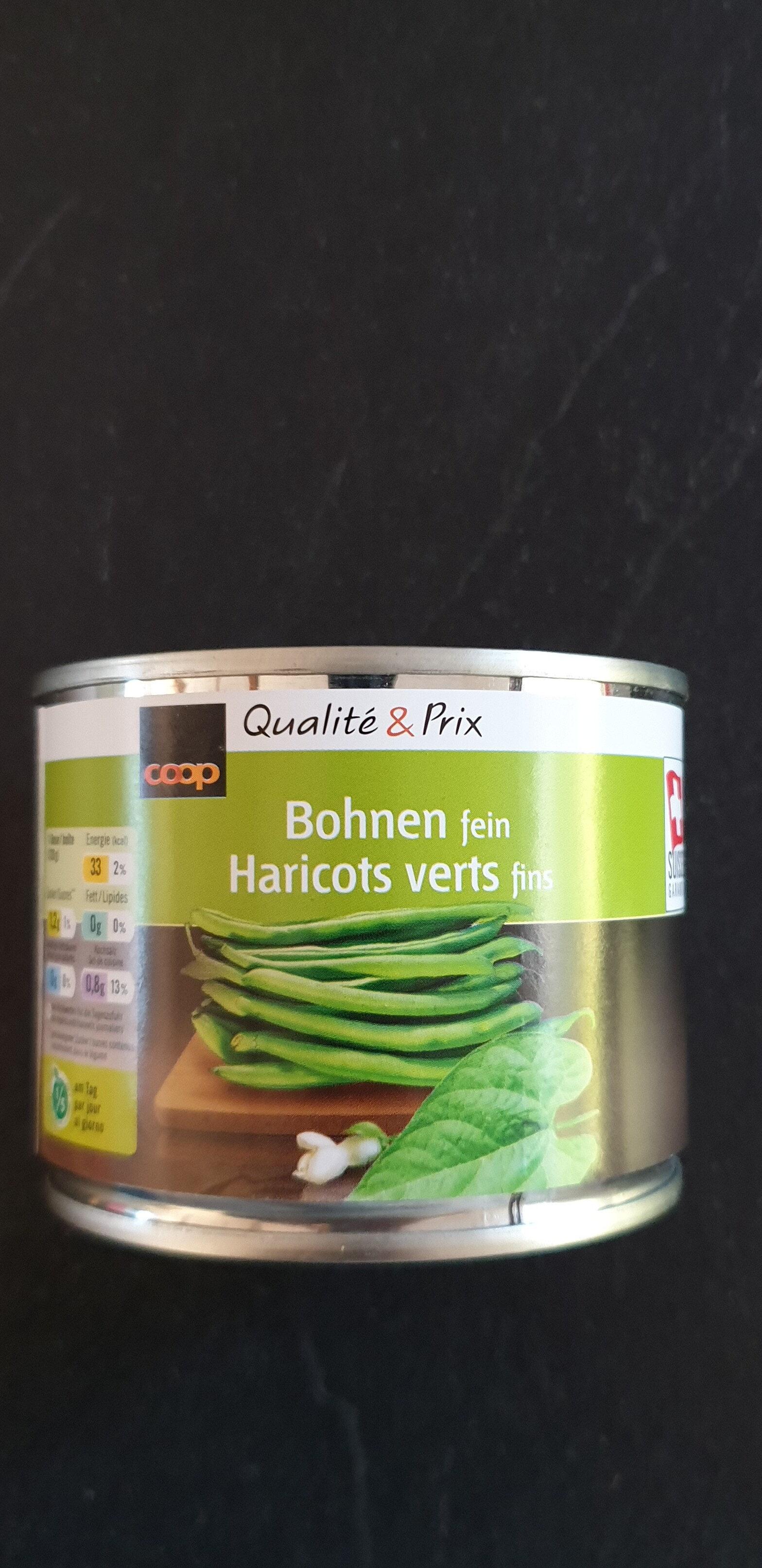 Haricots verts fins - Prodotto - fr