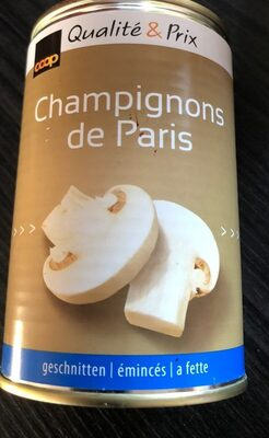 Chanpignons de paris émincés - Product - fr
