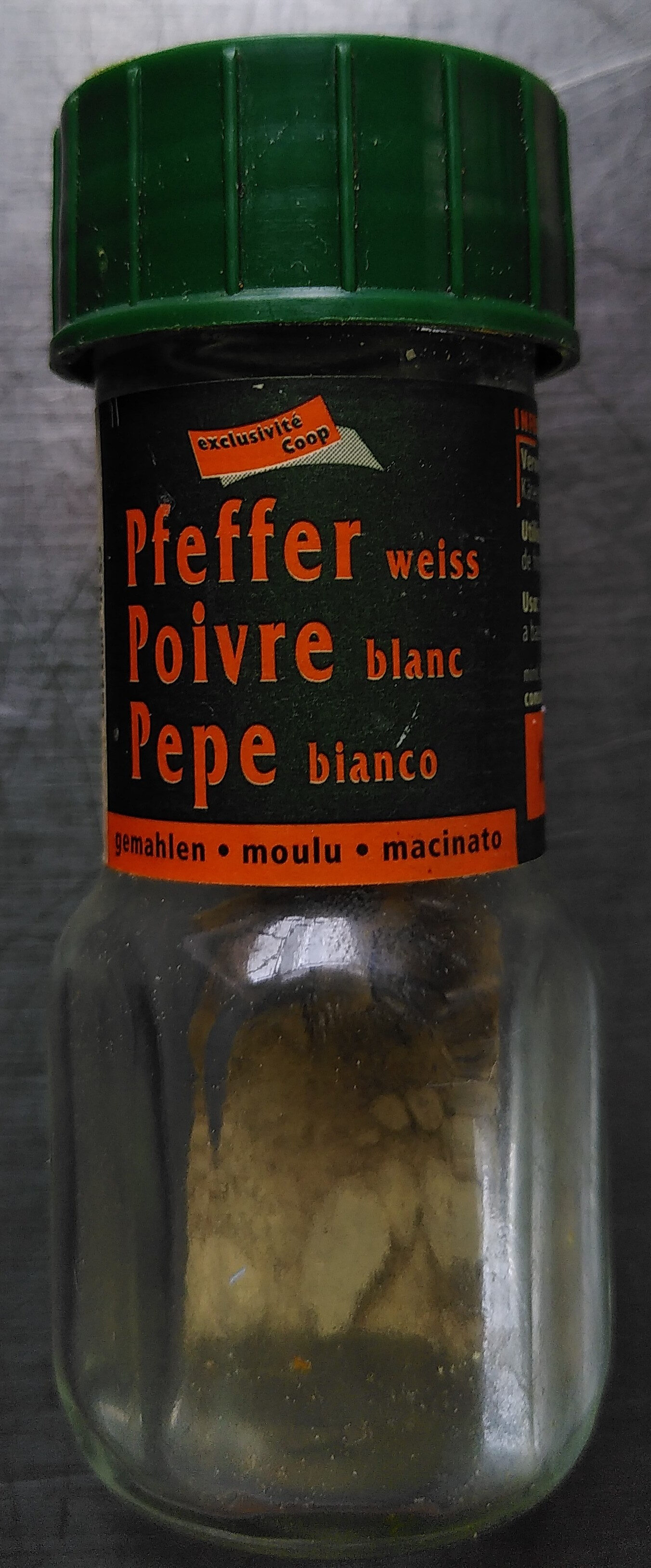Poivre blanc moulu - Prodotto - fr