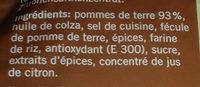 Rosti - Inhaltsstoffe - fr