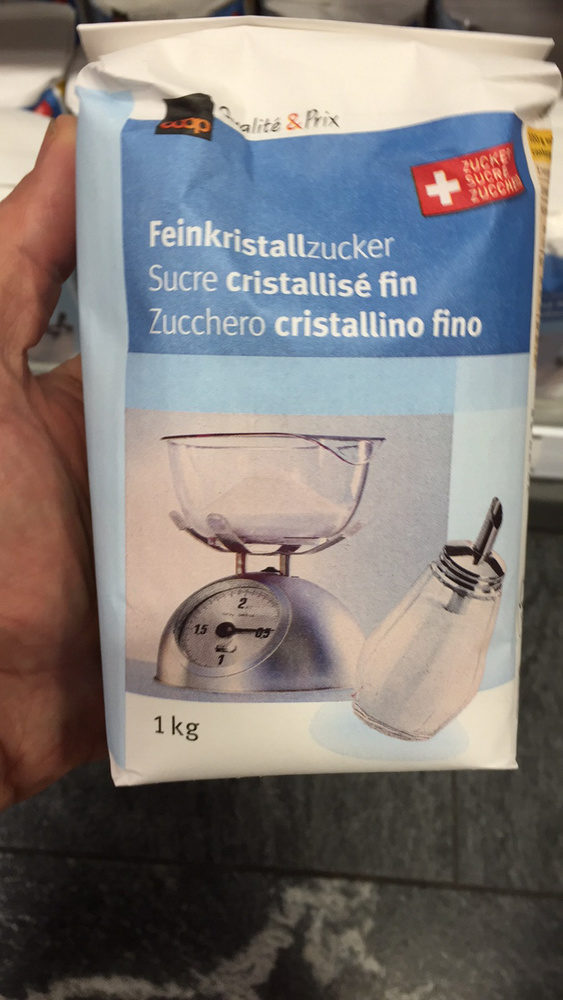 Feinkristallzucker - Produit - fr