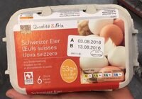 6 oeufs suisses - Product