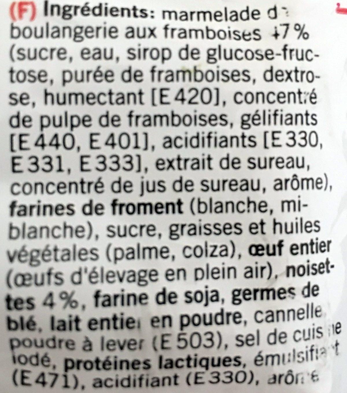 Tartelette de Linz - Ingrédients - fr