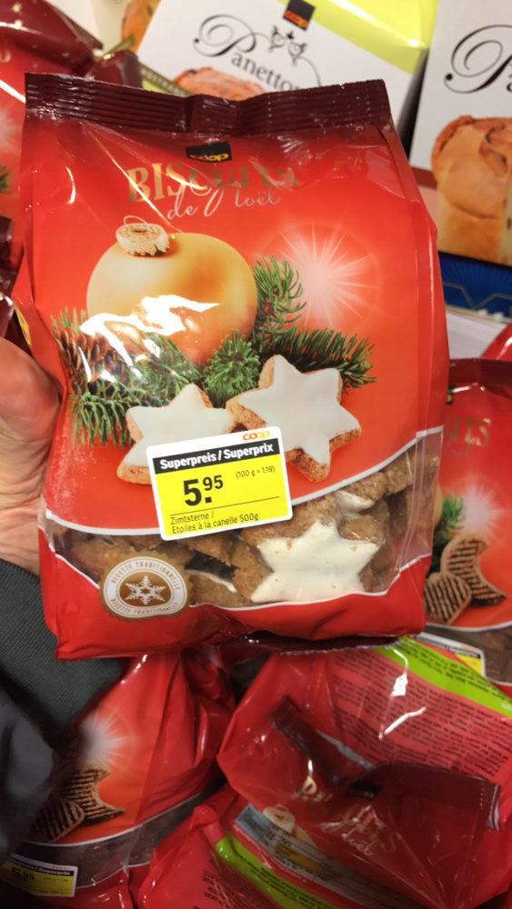 Cookies De Noel Biscuits de Noël   Coop   500 g