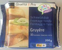 Qualité & Prix Fromage fondu 10 tranches - Producto