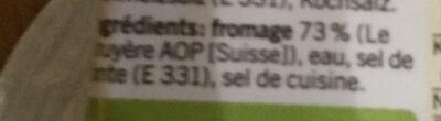 Qualité & Prix Fromage fondu 10 tranches - Ingredientes - fr
