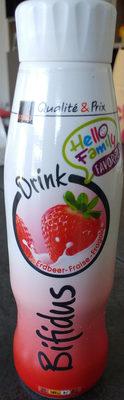Qualité & Prix Bifidus Drink Fraise - Product