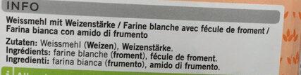 Farine Panifiable - Ingrediënten - fr
