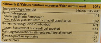 Farine Panifiable - Voedingswaarden - fr