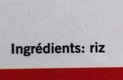 Risotto Carnoli - Ingrédients