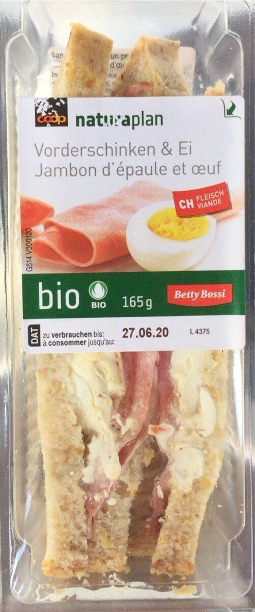Sandwich Jambon d'épaule-oeuf - Product - fr