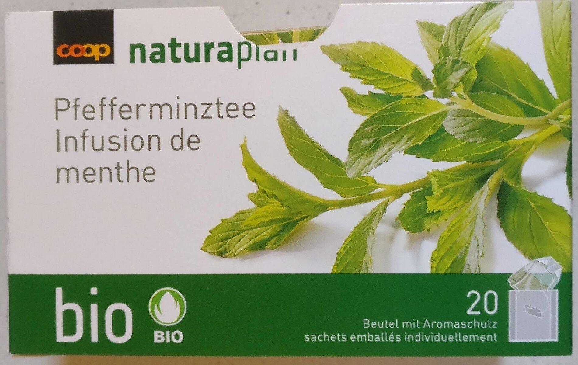 Coop Naturaplan Bio Pfefferminzetee - Prodotto - de