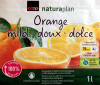 Jus d'orange doux - Product - fr