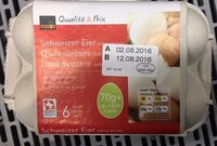 Oeufs suisses, extra-gros - Product