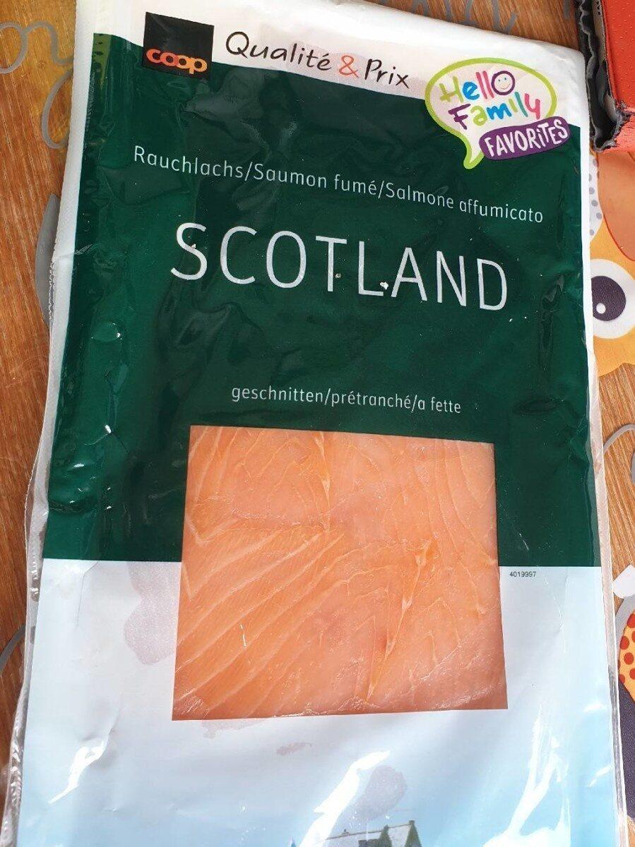 Saumon fumé scotland - Product